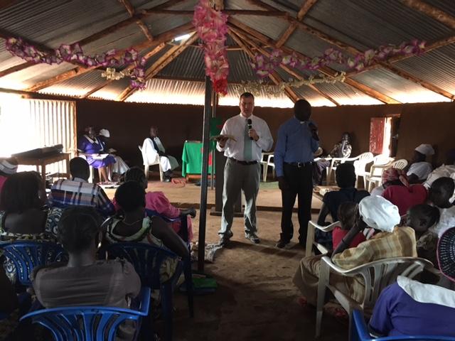 Emmanuel Baptist Church - Jon Preaching