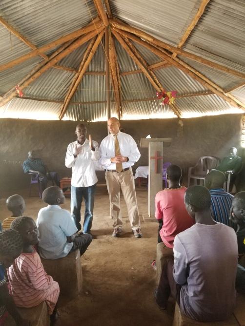 Satellite Church - Mark Preaching